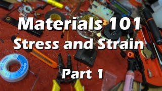 Download Materials Science Mechanical Engineering - Part 1 Stress and Strain Explained Video