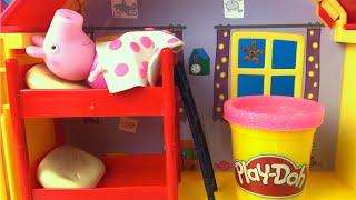 Download Twinkle Twinkle Little Star Nursery Song for Kids Nursery Rhyme Lullaby - Playdoh & Peppa Pig House Video