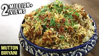 Download MUTTON BIRYANI | Quick And Easy Recipe | Mutton Recipe | Mutton Biryani By Varun Inamdar Video