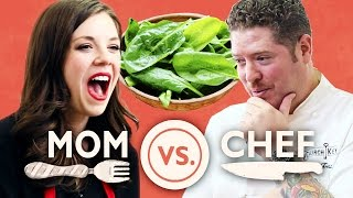 Download Mom Vs. Chef: Battle Spinach Video