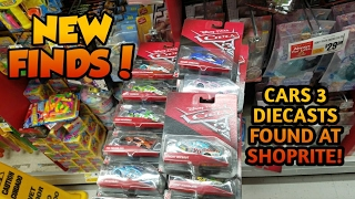 Download Disney Pixar Cars 3 Diecasts at ShopRite! (Video is not edited) But Many New Cars Video