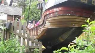 Download Chessington Pirate Ship Ride Video