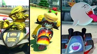Download Mario Kart 8 Deluxe - All 6 New Characters (Gameplay Showcase) Video