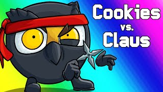 Download Cookies Vs Claus Funny Moments - Toy Battles and Chipbob Chocolatepants! Video