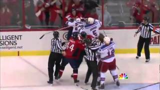 Download Three brawls in the Rangers/Capitals Game 5 Video