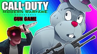 Download COD4 Remastered: Gun Game Funny Moments - Ultimate 1v1 Duel with Ohmwrecker! Video