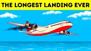 Download A Plane Lost Both Engines Over the Ocean So Pilots Had No Other Choice Video