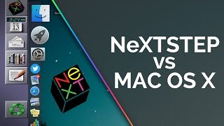 Download NeXTSTEP vs Mac OS X - System Demo and Comparison Video