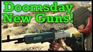 Download GTA 5: Doomsday Heist Mark 2 Weapons Showcase! New Marksman Rifle MK2, Shotgun, and More! Video