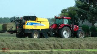 Download Big Baling and Wrapping - New Holland BB940 Video