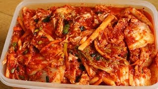 Download How to make Easy Kimchi (막김치) Video