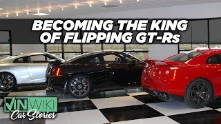 Download Making money and enemies flipping GT-Rs Video