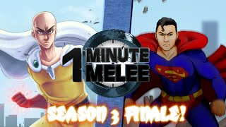 Download One Punch Man vs Superman - One Minute Melee S3 Finale Video