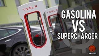 Download Cargar tu TESLA en un SUPERCHARGER costará igual que repostar GASOLINA (o eso dicen...) Video
