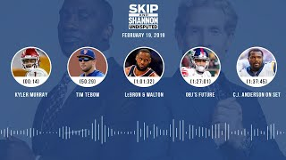 Download UNDISPUTED Audio Podcast (02.19.19) with Skip Bayless, Shannon Sharpe & Jenny Taft | UNDISPUTED Video
