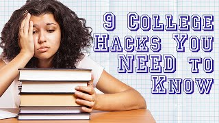 Download Study Tips, Motivation, & Money: 9 College Hacks You Should Know! Video