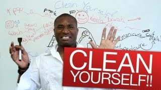 Download Speaking English - Clean yourself!!! Video