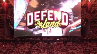 Download Watch as Cavaliers are introduced to open the 2017 NBA Playoffs against the Pacers Video