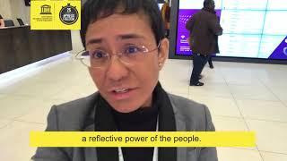 Download Maria Ressa - 25 Seconds for #PressFreedom Video