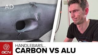 Download Carbon Vs. Aluminium Handlebars   Which Are The Strongest? Video