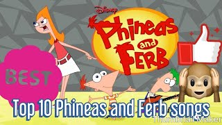 Download Top Ten Phineas and Ferb Songs Video