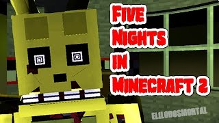 Download Five Nights in Minecraft 2 | Noche 1 y 2 | Fnaf 3 con Minecraft | Fnaf 3 Fan Game Video