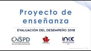 Download Proyecto de Enseñanza 2018 Video