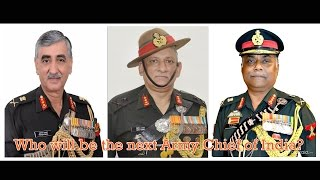 Download Who will be the next Army Chief of India? Video