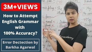 Download How to attempt English Grammar with 100% Accuracy - Error Detection by Barkha Agrawal Video