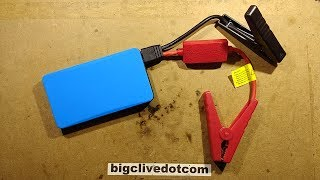 Download Shorting out a fully charged cheap lithium jump starter. (It didn't end well.) Video