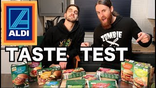 Download Taste Testing NEW VEGAN Products From ALDI Video