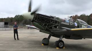 Download Spitfire MK XVI - First Engine Run in 17 Years! Video