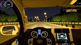 Download City Car Driving 1.3.3 Toyota Land Cruiser Prado 150 HD G27 Video