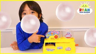 Download Make your own real working bubble gum with Ryan ToysReview Video