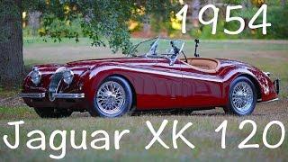 Download 1954 Jaguar XK120 Roadster Video