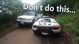 Download Here's why you shouldn't own a $330,000 Lamborghini in Hawaii Video