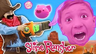 Download Gooey, Squishie Slime Monsters vs. FGTEEV Sheriff (Slime Rancher Farm Gameplay / Skit) Video