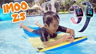 Download Ziyan Main di Waterpark Seharian Menggunakan imoo Watch Phone Z5 Video