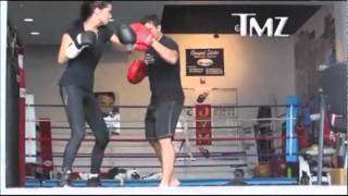 Download Adriana Lima Boxing Training Video