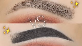 Download Natural Vs Fleeky Eyebrow Routine Video