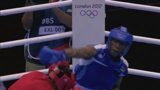 Download Boxing Men's Light Welter (64kg) Highlight - Morocco v Mauritius - London 2012 Olympics Video