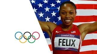 Download Allyson Felix Wins Women's 200m Gold - London 2012 Olympics Video