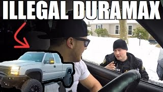 Download Cop Pulls Over Duramax For ″ILLEGAL″ Mods... Video