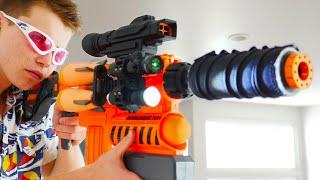 Download Nerf War: 3 Million Subscribers Video