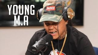 Download Young M.A Freestyles on Flex   Freestyle #004 Video