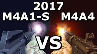 Download CS:GO's M4A4 VS M4A1-S - Which is better in 2017? Video