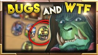 Download Crazy BUGS and WTF Moments Ep.4 | Hearthstone Video