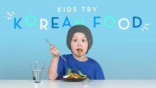 Download Kids Try Korean Food Video