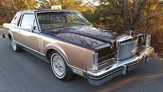 Download 1982 Lincoln Mark VI American Classic Luxury Coupe Video