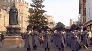 Download Changing the Guard at Windsor Castle - Saturday the 26th of November 2016 Video